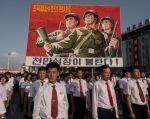 Corea del Norte amenazó con lanzar cuatro misiles a Guam. Foto: AFP