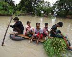 Al menos 80 personas en Nepal, 73 en el norte y este de la India y 22 en Bangladés perdieron la vida debido a las lluvias. Foto: Reuters