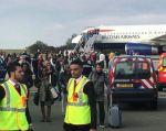 La aeronave se encontraba a punto de despegar en el aeropuerto Charles de Gaulle cuando las autoridades recibieron una alerta anónima. Foto: Reuters