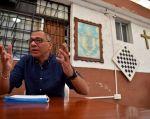 """Jorge Glas dice ser víctima de una """"venganza"""" de la constructora brasileña y acusa a la justicia de Ecuador de estar cediendo """"a la presión política y mediática"""". Foto: AFP"""