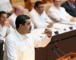 """""""Están en conversaciones de trabajo de fórmulas nuevas que aspiro (...) muy pronto estar ya activando"""", dijo Maduro. Foto: Reuters"""