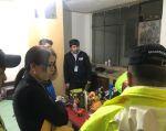 Se allanaron 16 inmuebles de manera simultánea en las ciudades de Quito, Portoviejo, Santo Domingo, Manta, Cuenca y Loja. Foto: Fiscalía