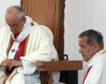 El anuncio de expulsión de Juan Barros constituye una marcha atrás radical por parte del papa Francisco. Foto: AFP
