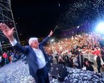 Andrés Manuel López Obrador arrasó el domingo en las elecciones presidenciales en México. Foto: AFP