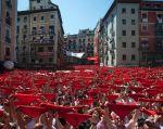 """Pamplona se ha proclamado """"ciudad libre de agresiones sexistas"""", antes de recibir a cientos de miles de turistas. Foto: archivo Reuters"""
