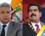 """Moreno advirtió al Gobierno venezolano de que """"no provoque"""" porque """"también sabemos hacerlo de otra manera"""".Foto: Collage Vistazo"""