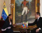 El gobierno de Venezuela acusó al presidente de Ecuador, Lenín Moreno, de ir en contra de su soberanía.