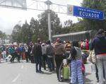 TULCÁN, Ecuador.- Solo 20% de los que llegan a Ecuador se quedan en este país. Foto: Cortesía.