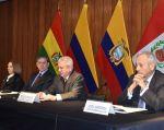 Bolivia no firmó el documento porque no es un país que reciba un flujo migratorio numeroso de venezolanos. Foto: Twitter @ComunidadAndina