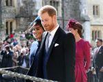 Enrique, de 34 años, y Meghan, de 37, se dieron el sí el 19 de mayo en la capilla de San Jorge del Castillo de Windsor. Foto: AFP
