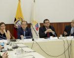 Bairon Valle, Fernando Callejas y Jimmy Candell integran la comisión que investigó a Espín. Foto: Flickr Asamblea
