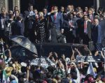 La invitación a Maduro desató un fuerte debate en la Cámara de Diputados, incluso con conatos de enfrentamientos. Foto: AFP