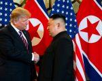 Trump hizo historia al reunirse dos veces con Kim en un intento por convencer a Corea del Norte de abandonar su programa de armas nucleares.
