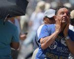 El estrés térmico supone un calor superior al que el cuerpo puede tolerar sin sufrir daños psicológicos. Foto: AFP
