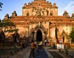 El sitio sacro de Bagan, en Birmania. posee numerosos templos,  monasterios y lugares de peregrinación, así como vestigios arqueológicos y esculturas. Foto: AFP.