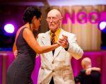 James McManus aprendió a bailar tango a los 80 años y hoy a sus 99 compite en el Mundial de Tango representando a su país.