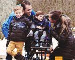 Cuando Nash cumplió los 11 meses, los médicos le diagnosticaron una enfermedad neuromuscular rara conocida como SMARD.