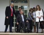 Reunión entre Trump y Moreno supuso un paso importante en la revitalización de relaciones. Foto: AFP