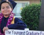 Jack Rico, con tan solo 13 años, recibió diplomas en las especiales de Historia, Expresión Humana, Comportamiento Social y Ciencias Sociales en el Fullerton College.