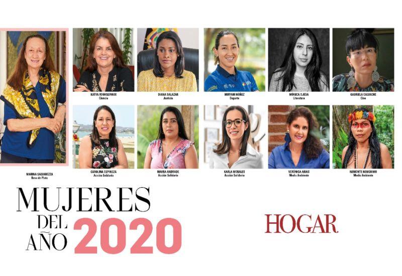 Son 11 las ecuatorianas ganadoras del reconocimiento
