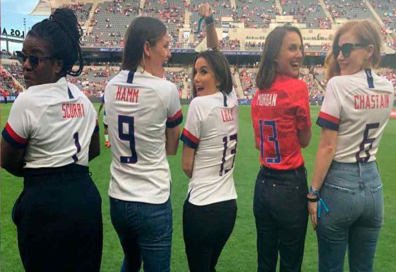 Actrices, deportistas ex jugadoras y más mujeres se unieron para fundar el equipo femenino de fútbol en Los Angeles que debutará en el 2022