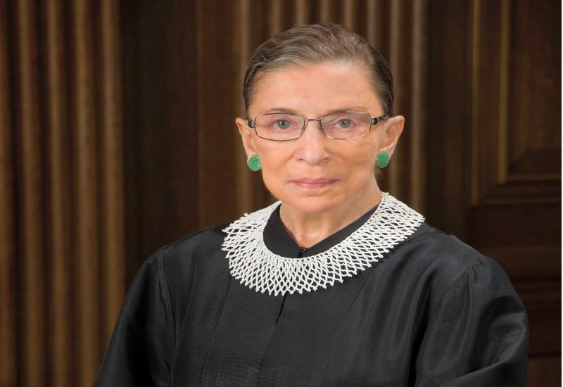 El Tribunal Supremo informó de que Ginsburg había muerto a los 87 años de edad. Foto: Corte Suprema de los Estados Unidos
