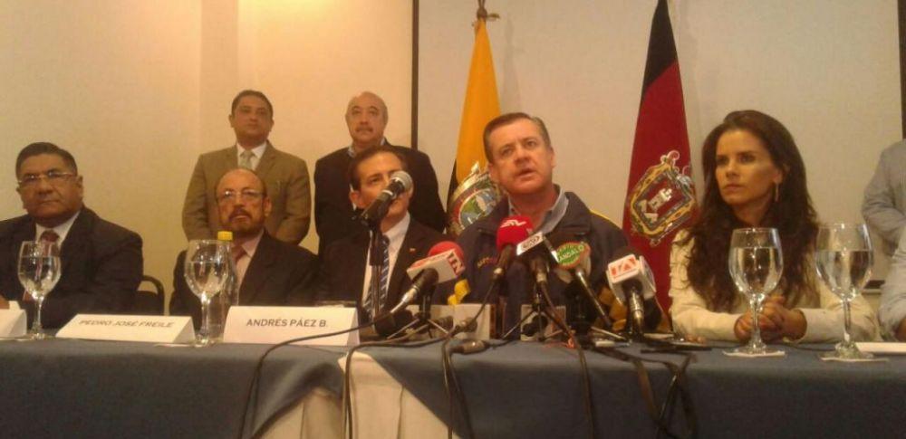 El asambleísta dijo haber logrado consensos en 14 de 16 puntos del acuerdo político. Foto: API.