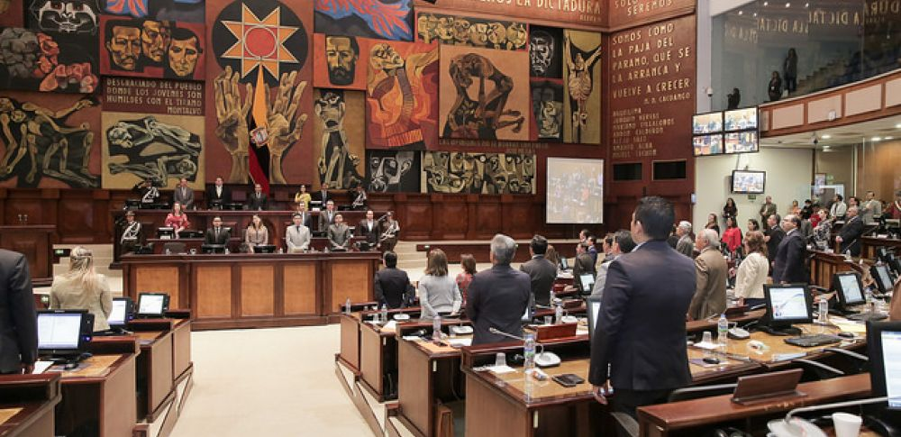 El debate será sobre la base del informe preparado por la Comisión de Régimen Económico que previamente escuchó la información y las propuestas de 24 autoridades. Foto: Asamblea