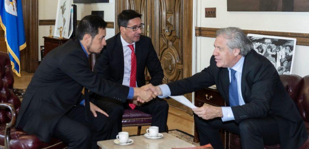 OEA y ONU respaldan a Ecuador y Colombia por crisis en frontera. Foto: Twitter Luis Almagro