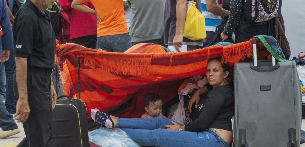 Unos 12,000 venezolanos ingresaron a Perú en los últimos tres días. Foto: AFP