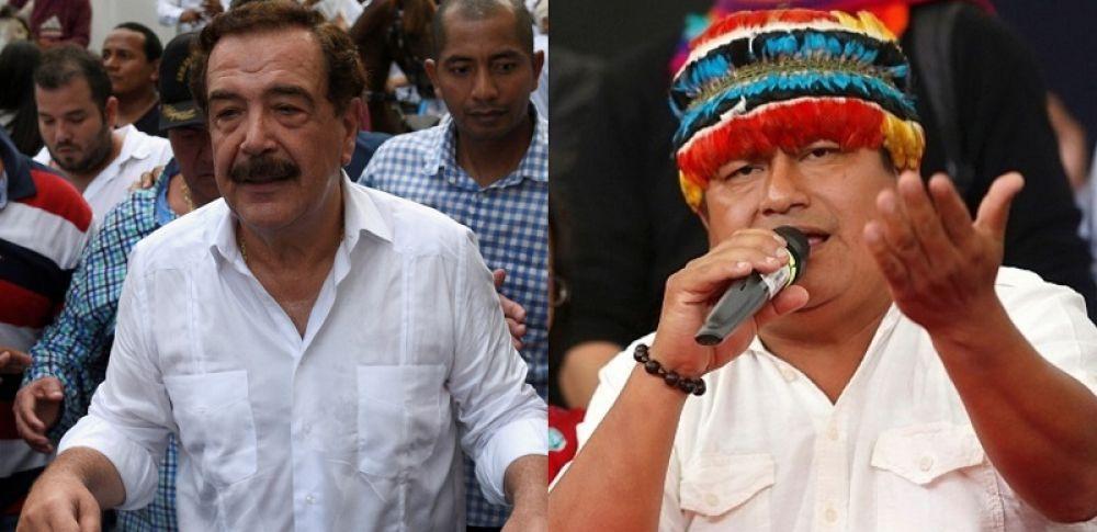 """Jaime Vargas responde a exalcalde Nebot y dijo: """"No somos indigenado""""."""