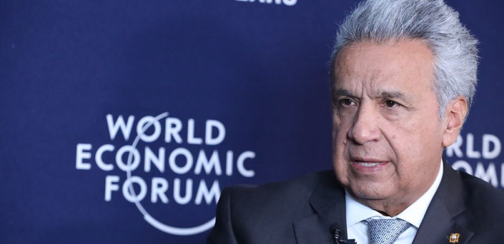 Moreno mantuvo reuniones con empresarios de los sectores financiero y de alimentos y bebidas.