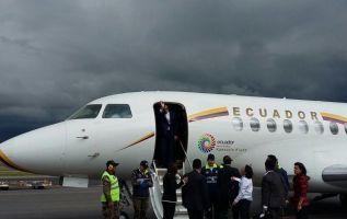 El presidente cuestionó viaje del alcalde Rodas en vez de justificar depósitos a Mauro Terán. Foto: Twitter Presidencia.