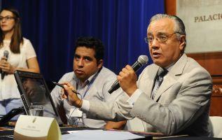 """Alexis Mera, secretario jurídico de la Presidencia, aseguró que se ha investigado a Jorge Glas y no se """"ha encontrado nada"""". Foto: API"""
