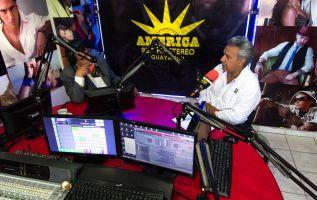 A pesar de que la campaña por la segunda vuelta inicia el 10 de marzo, Moreno ya visitó Manabí y Durán. Foto: Twitter del candidato