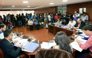 La ley electoral dispone que el organismo debe proclamar en audiencia pública los resultados oficiales 3 días después de los comicios. Foto: Twitter CNE