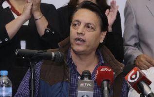 Villavicenció enfrentó en 2016 una acusación por supuesta publicación de correos electrónicos privados de Diego García y Rafael Correa. Foto: Archivo / Ecuavisa.