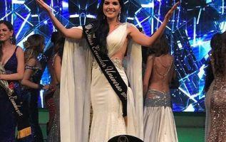 La guayaquileña Daniela Cepeda se llevó la corona del Miss Ecuador 2017 la noche del sábado 22 de abril de 2017. Foto: redes
