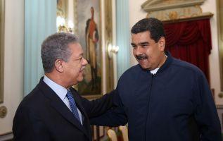 Maduro agradeció al expresidente de República Dominicana, al de Panamá Martín Torrijos, y al exjefe de Gobierno de España José Luis Rodríguez Zapatero.  Foto: Noticiassin