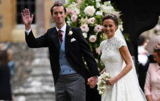 Pippa Middleton, cuñada del príncipe Guillermo, se casó hoy con el financiero James Matthews en una ceremonia privada en una capilla inglesa del siglo XII. Foto: AFP