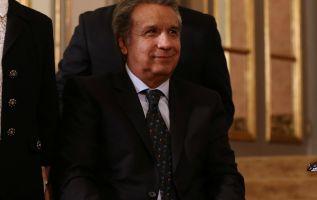 Moreno, en el palacio de Gobierno de Perú, en Lima, el pasado 9 de mayo. | Foto: Reuters.