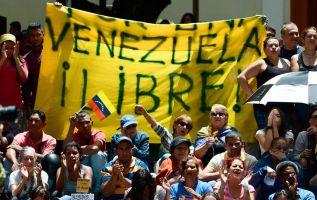 """El Tribunal Supremo de Justicia (TSJ) de Venezuela declaró hoy la """"constitucionalidad"""" de las bases comiciales para la Asamblea Nacional Constituyente. Foto: AFP"""