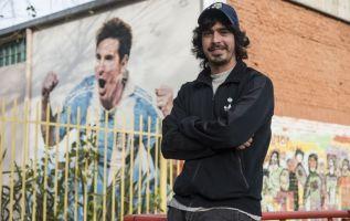 Diego Vallejos, amigo de la infancia de Messi. | Foto: AFP.
