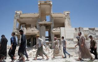 El Observatorio Sirio de Derechos Humanos ha apuntado que los ataques aéreos causaron la muerte de civiles. Foto: Reuters