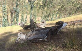 La circulación vehicular se suspendió en el sector de Chasqui- Latacunga, hasta que los organismos hagan las labores de asistencia. Foto cortesía