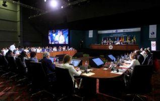 La declaración fue leída en la OEA por el embajador panameño, Jesús Sierra. Foto: Informe21