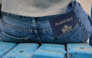 En el pasaporte, la cabeza de ella se veía considerablemente alargada y deformada. Foto referencial