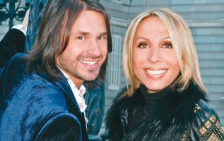 Zuárez mantuvo una relación con Laura Bozzo durante 17 años. Foto: Internet