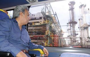 Habrán nuevas rondas petroleras para atraer la inversión, mediante contratos de participación, dijo Moreno. Foto: Twitter