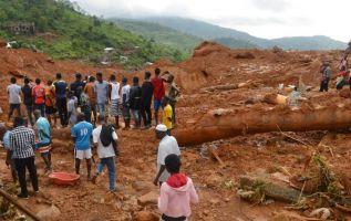 Un alud que enterró una localidad de pescadores en RDC. Foto referencial